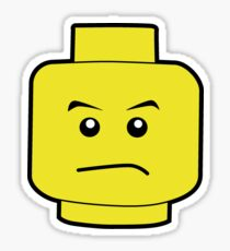 LEGO Head Sticker