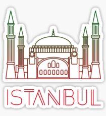 Istanbul Turkey Sticker