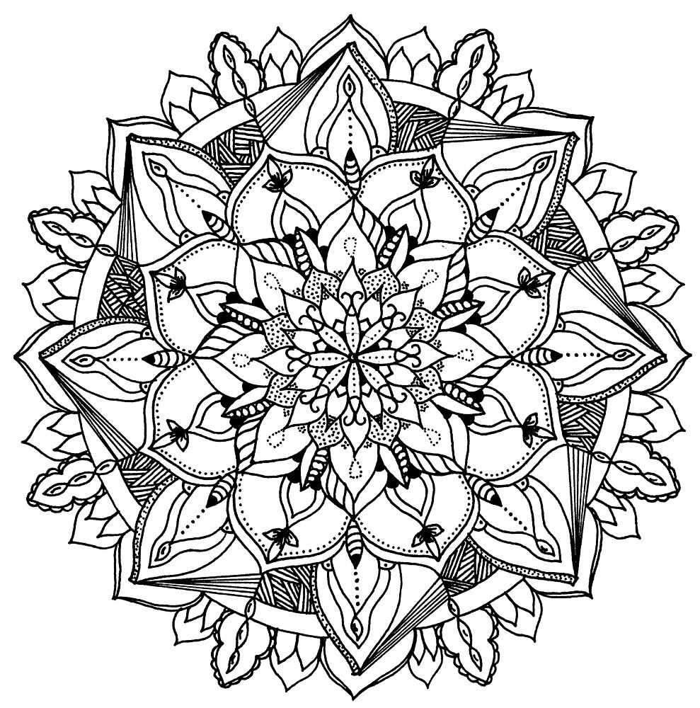 mandala by Lady Alhambra