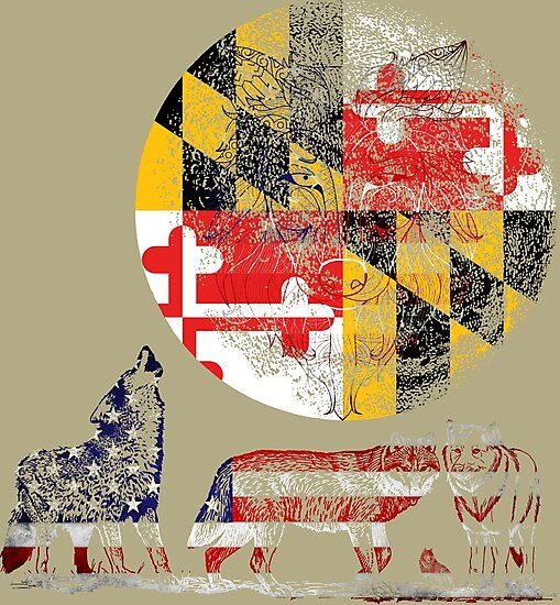 WOLF PACK MARYLAND  by SK8N