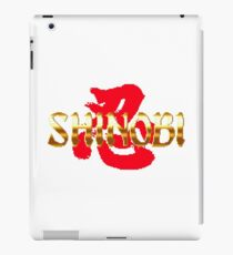 Shinobi - SEGA Genesis Title Screen iPad Case/Skin