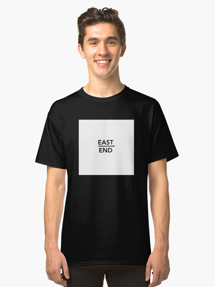 East End Drake T-Shirt Classic T-Shirt Front