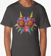 Majora's Mask Splatter Long T-Shirt