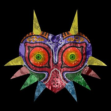 Majora's Mask Splatter by Colossal