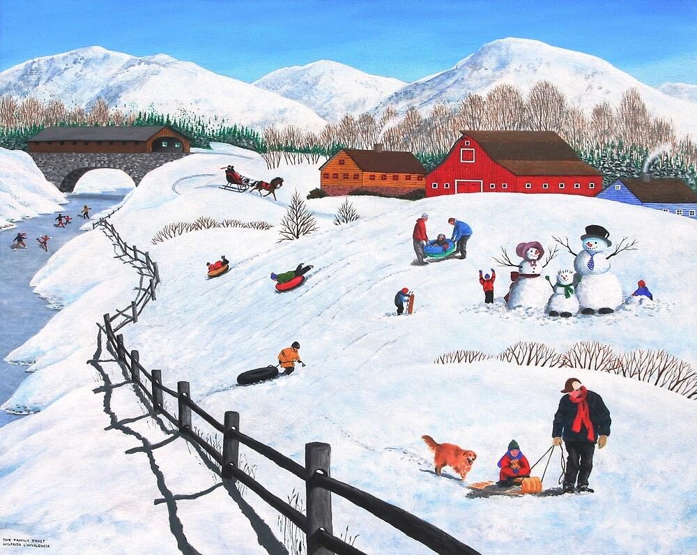 The Family Frost by kirbeekatz