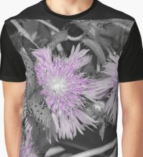 Gulf Fritillary Butterfly In Black and White Graphic T-Shirt