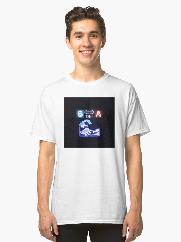 Drake 6 on a Wave T-Shirt Classic T-Shirt Front