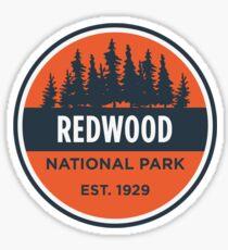 Redwood National Park Badge Sticker