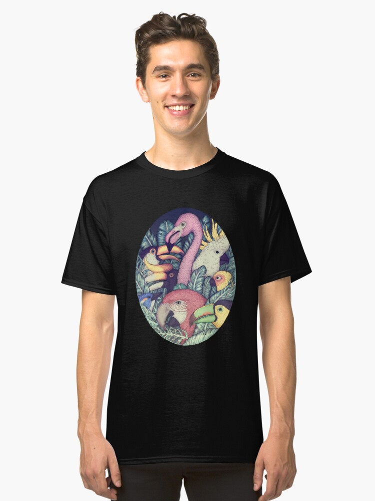 The Jungle Birds Classic T-Shirt Front