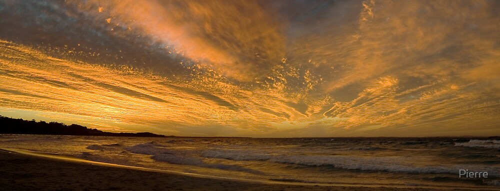 Cylinder Sunset by Pierre