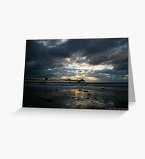LET THE LIGHT SHINE THROUGH Greeting Card