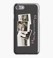 Some things are meant to be; T&S - 02 iPhone Case/Skin
