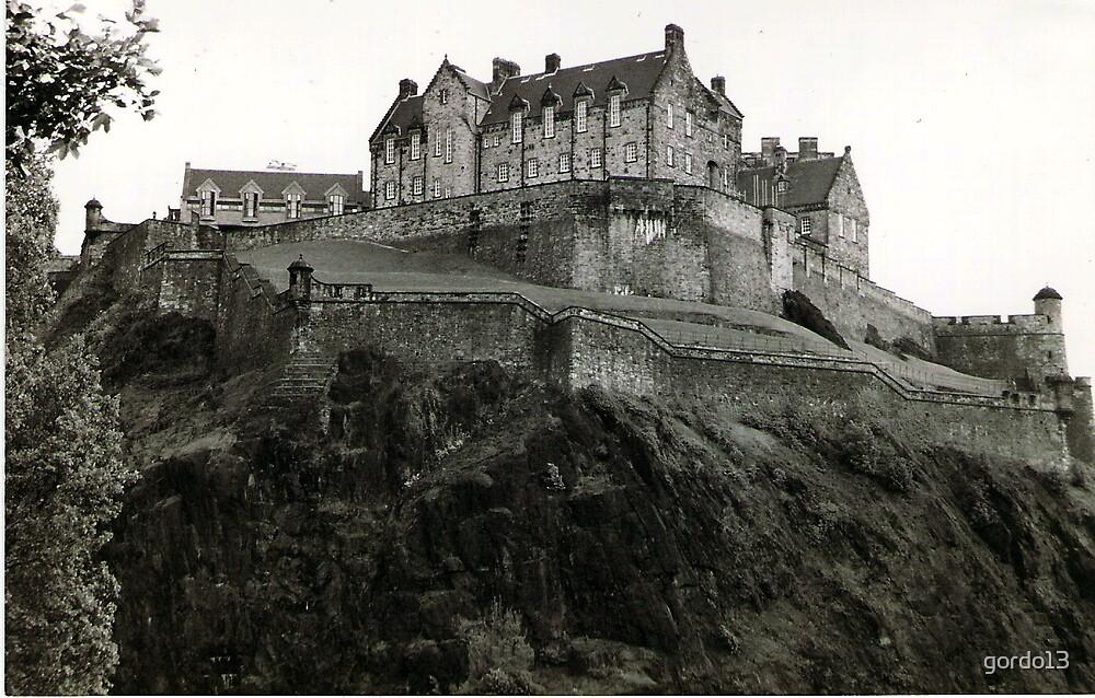 Edinburgh Castle  by gordo13