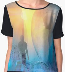 Out of the cold Women's Chiffon Top