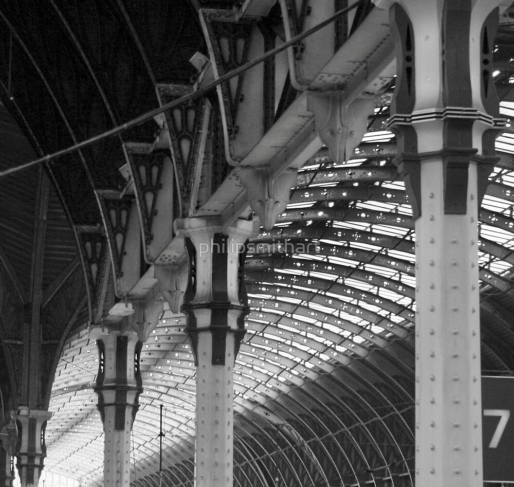 Paddington Station by philipsmithart