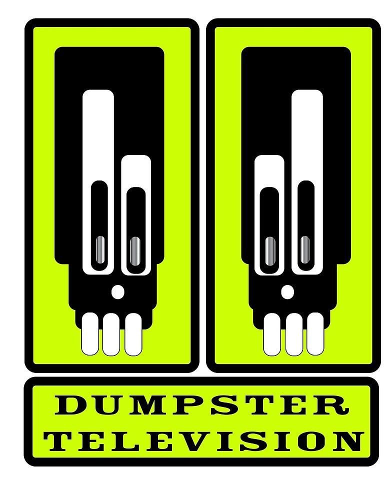 Dumpster Television by djzombie