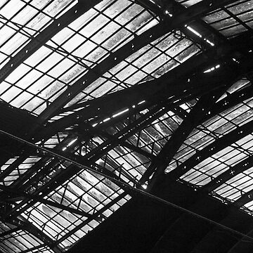 Station Roof by philipsmithart