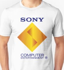 Retro Sony Computer Entertainment Playstation 1 PSX PS1 T-Shirt