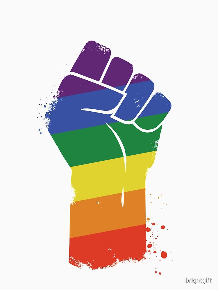 LGBT widerstehen Gay Pride Awareness von brightgift