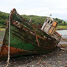 Kerrera Wreck by RedHillDigital