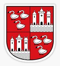 Zwickau coat of arms Sticker