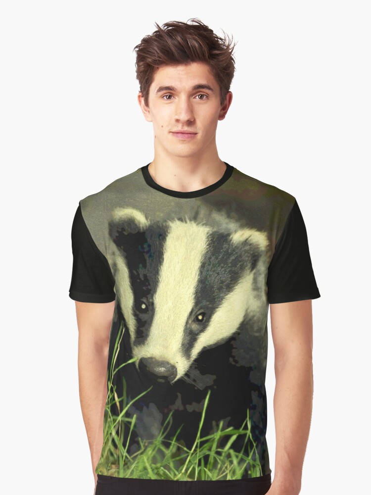 BADGER CUB Graphic T-Shirt Front