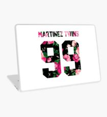 Martinez Twins - Colorful Flowers Laptop Skin