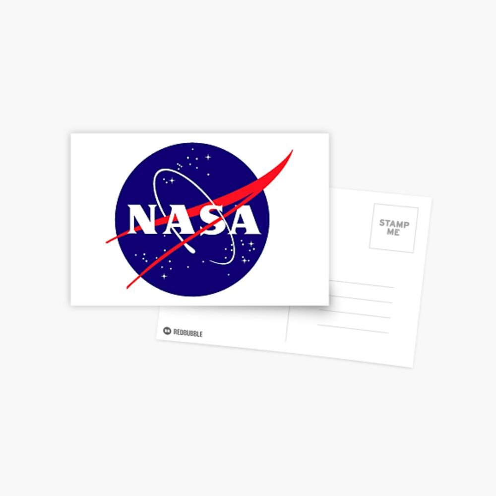 Official NASA (meatball) Logo Postcard