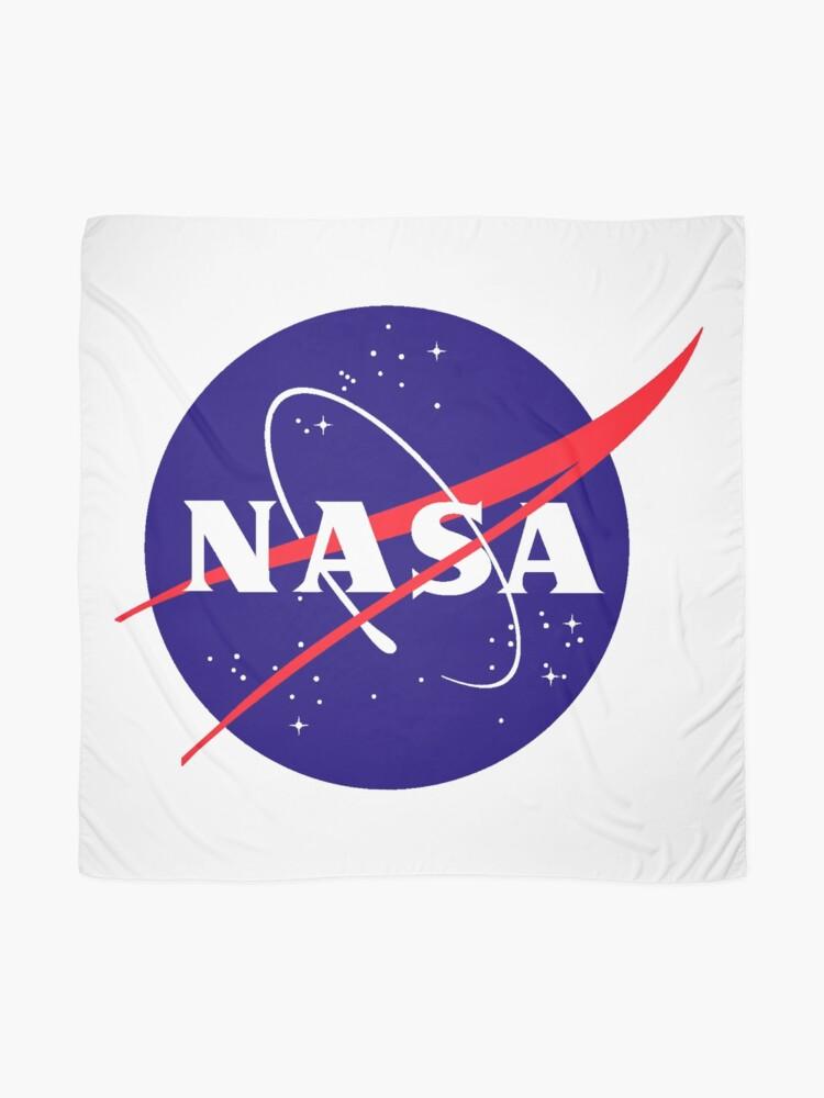 Alternate view of Official NASA (meatball) Logo Scarf