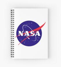 Official NASA (meatball) Logo Spiral Notebook