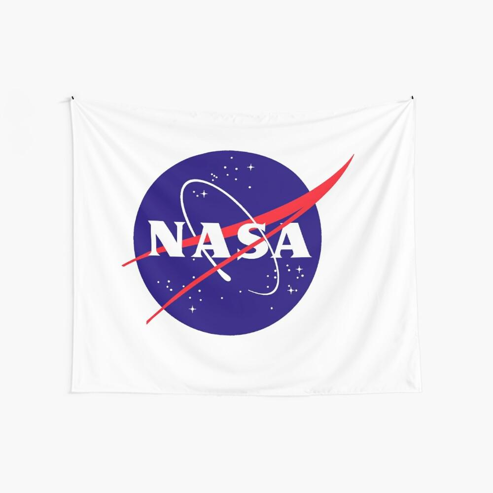 Official NASA (meatball) Logo Wall Tapestry