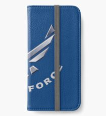 U.  S. Air Force Symbol for Dark Colors iPhone Wallet/Case/Skin