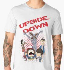 Upside Down Mash Up Men's Premium T-Shirt