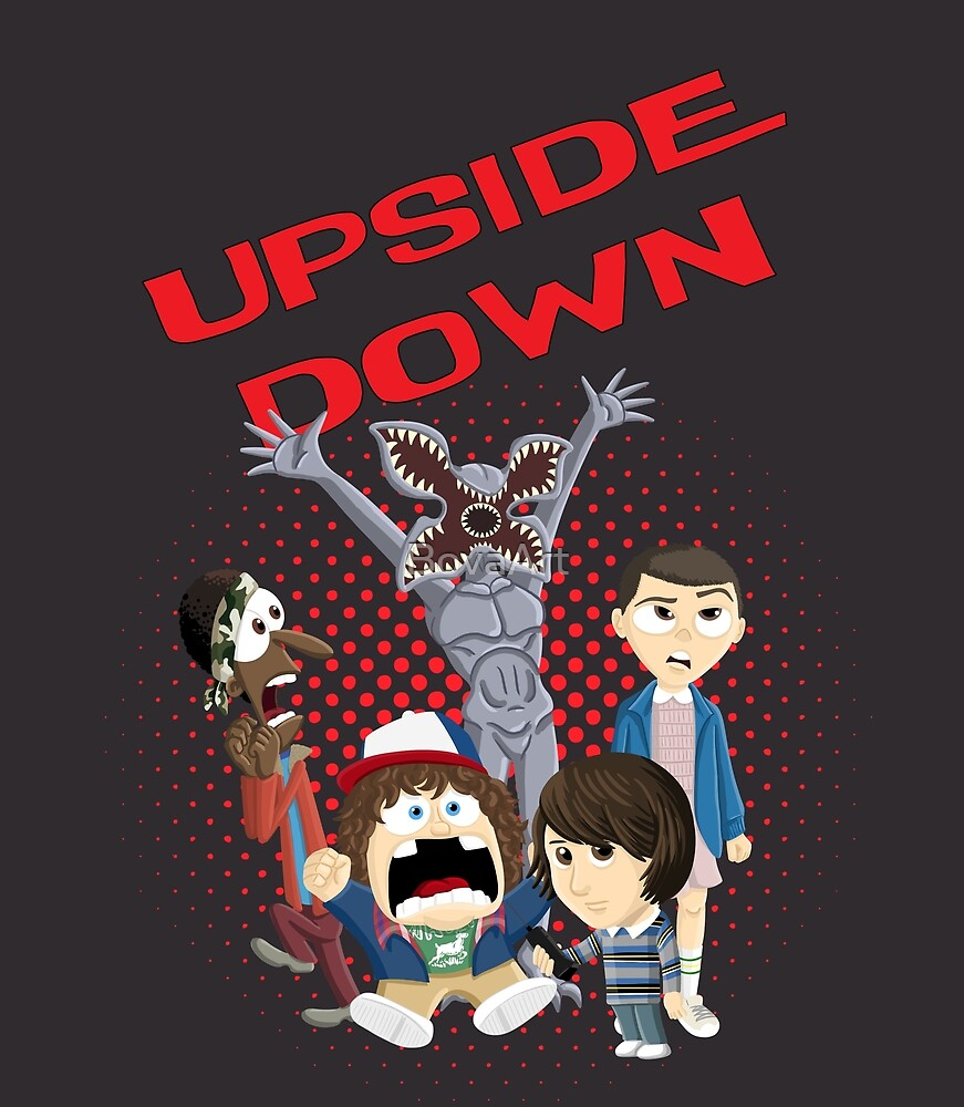Upside Down Mash Up by BovaArt