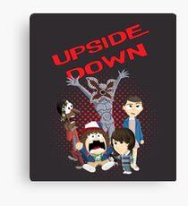 Upside Down Mash Up Canvas Print