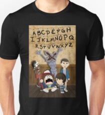 Stranger Things cartoon mash up Unisex T-Shirt