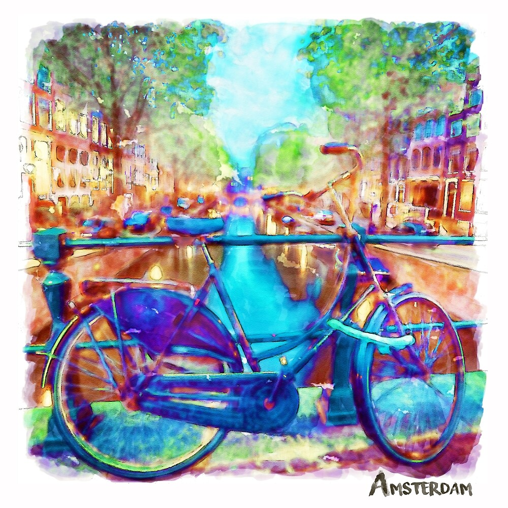 Amsterdam Bicycle by Marian  Voicu