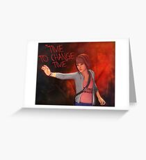 Timemaster Max Caulfield - Life is Strange Greeting Card