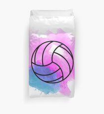 Volleyball Aquarell Bettbezug
