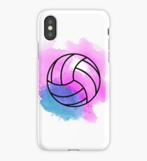 Volleyball Watercolor iPhone Case/Skin