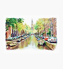 Amsterdam Canal 2 Photographic Print