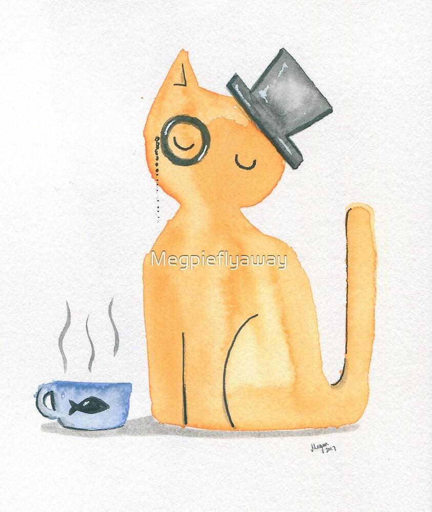 The Gentleman Cat by Megpieflyaway