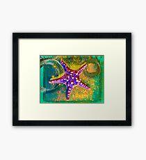 Sea Star Framed Print