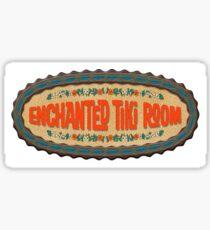 Tiki Room Sticker