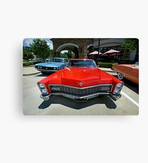 1967 Cadillac Sedan Deville - 2 Canvas Print