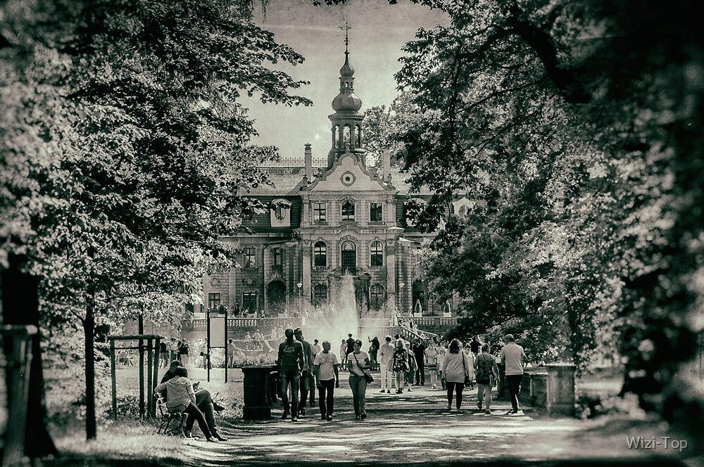 Moszna Castle by Wizi-Top