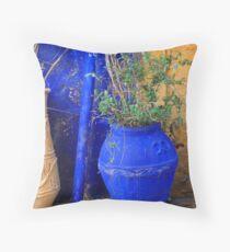 Flower Pots, Greek Style Throw Pillow