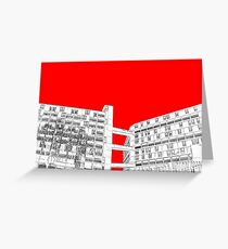 Park Hill Red Greeting Card