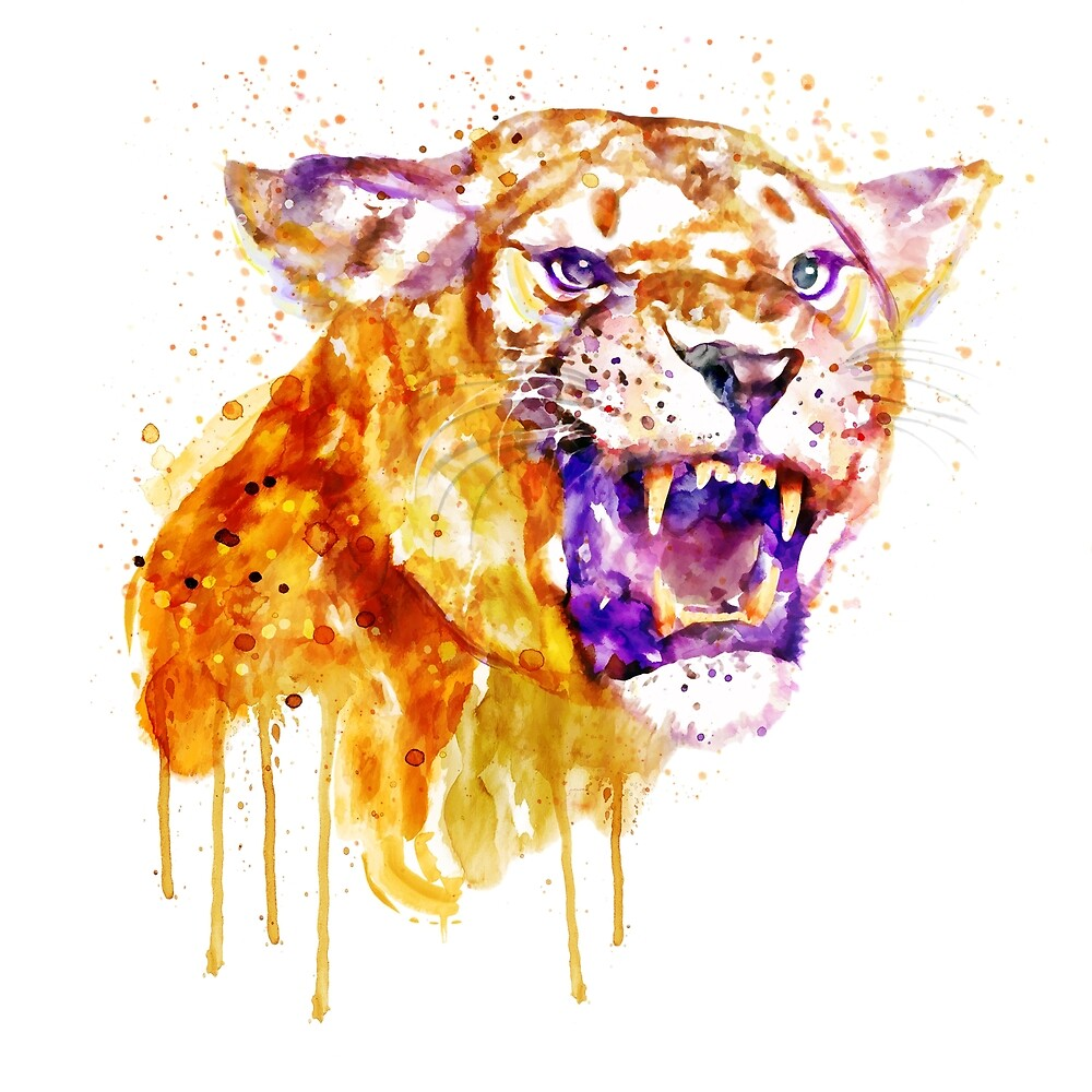 Angry Lioness by Marian  Voicu