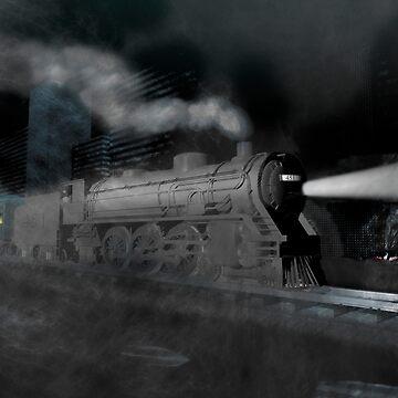 Night train by fotokatt